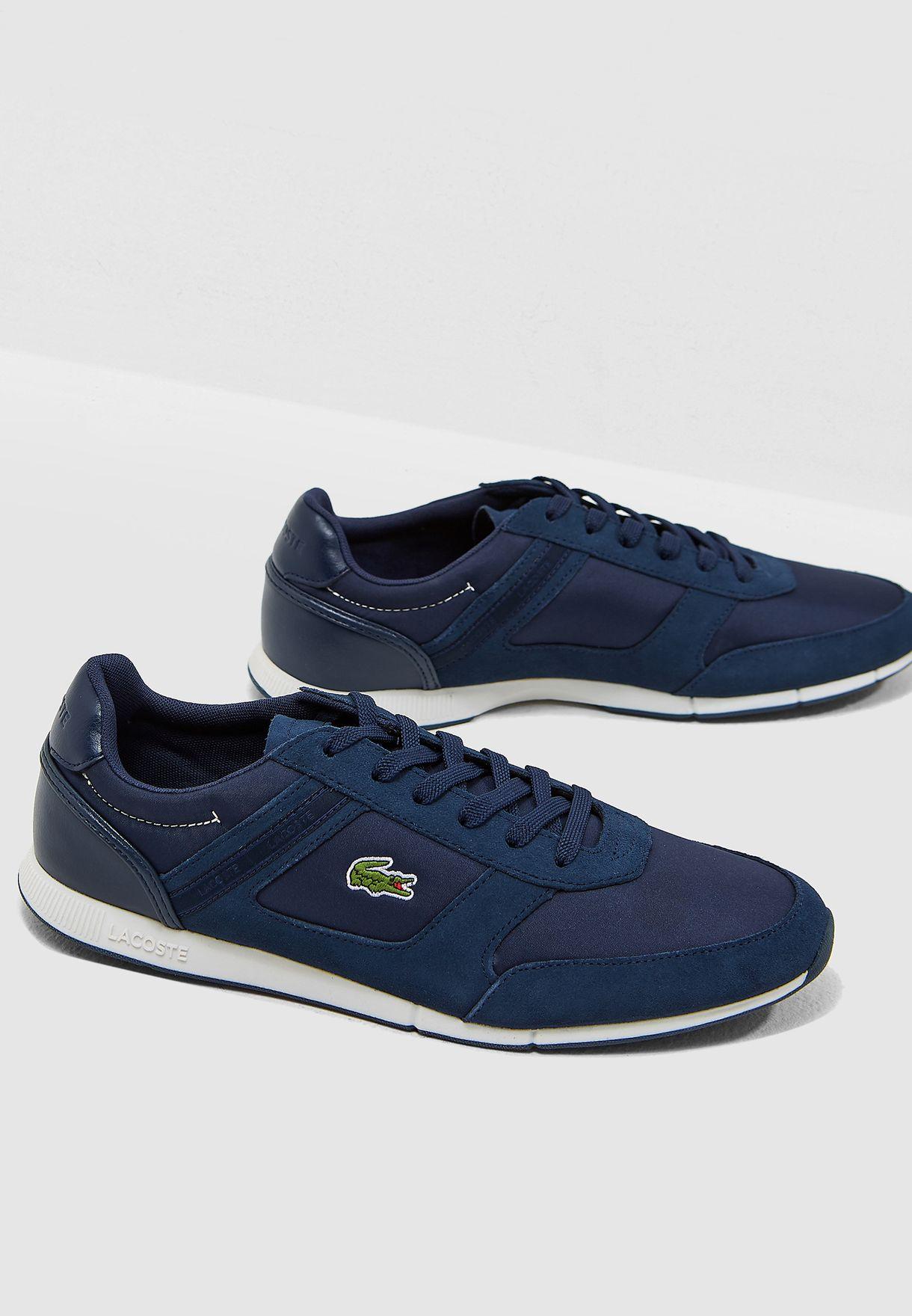 27ee5f660f0 Shop Lacoste navy Menerva Sport Sneakers 36CAM0054ND1 for Men in UAE ...