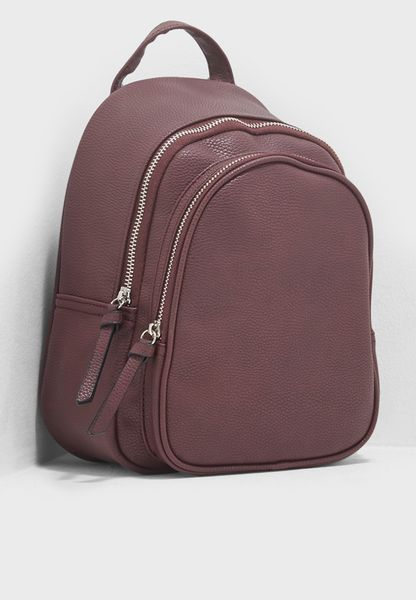 Mini Dolly Double Zip Backpack
