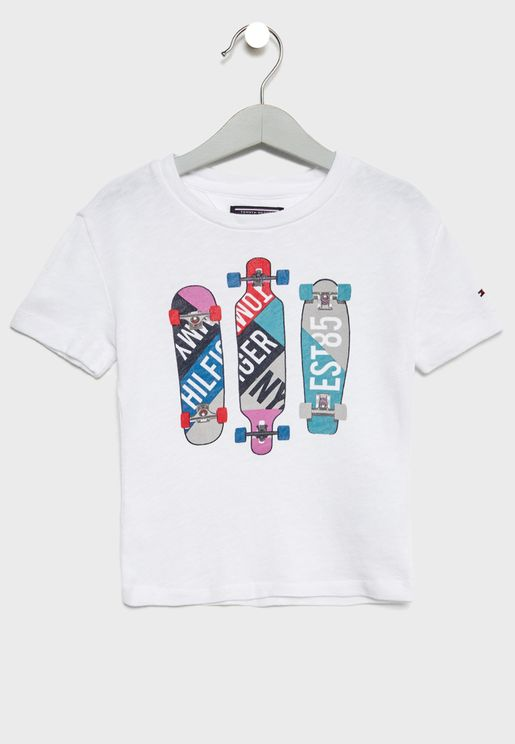 Little Skateboard T-Shirt