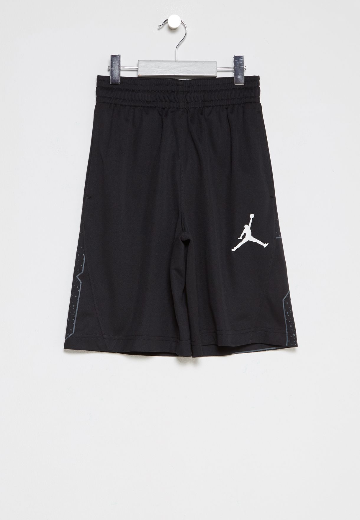 578618290458 Shop Nike black Jordan Youth Speckle Shorts 954348-023 for Kids in UAE -  NI727AT55PSU