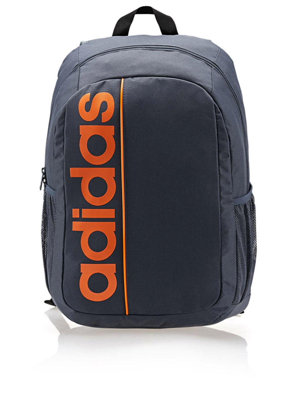 7a77078f44c6 Shop adidas grey Linear Ess Backpack F79041 for Men in Qatar - AD476AC55RYA