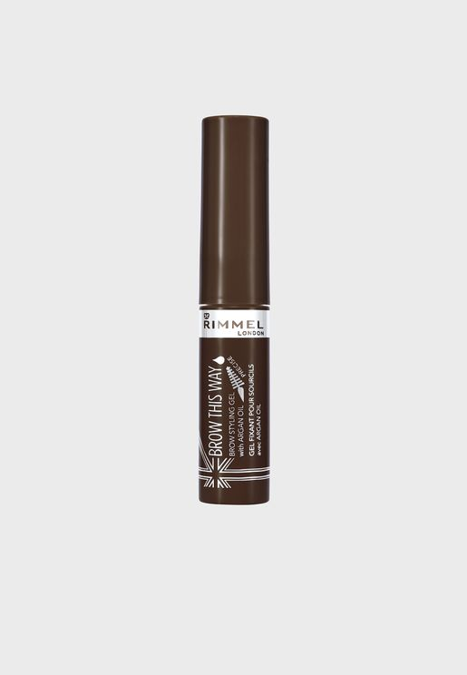 Brow This Way Eyebrow Gel with Argan Oil- 003 Dark Brown