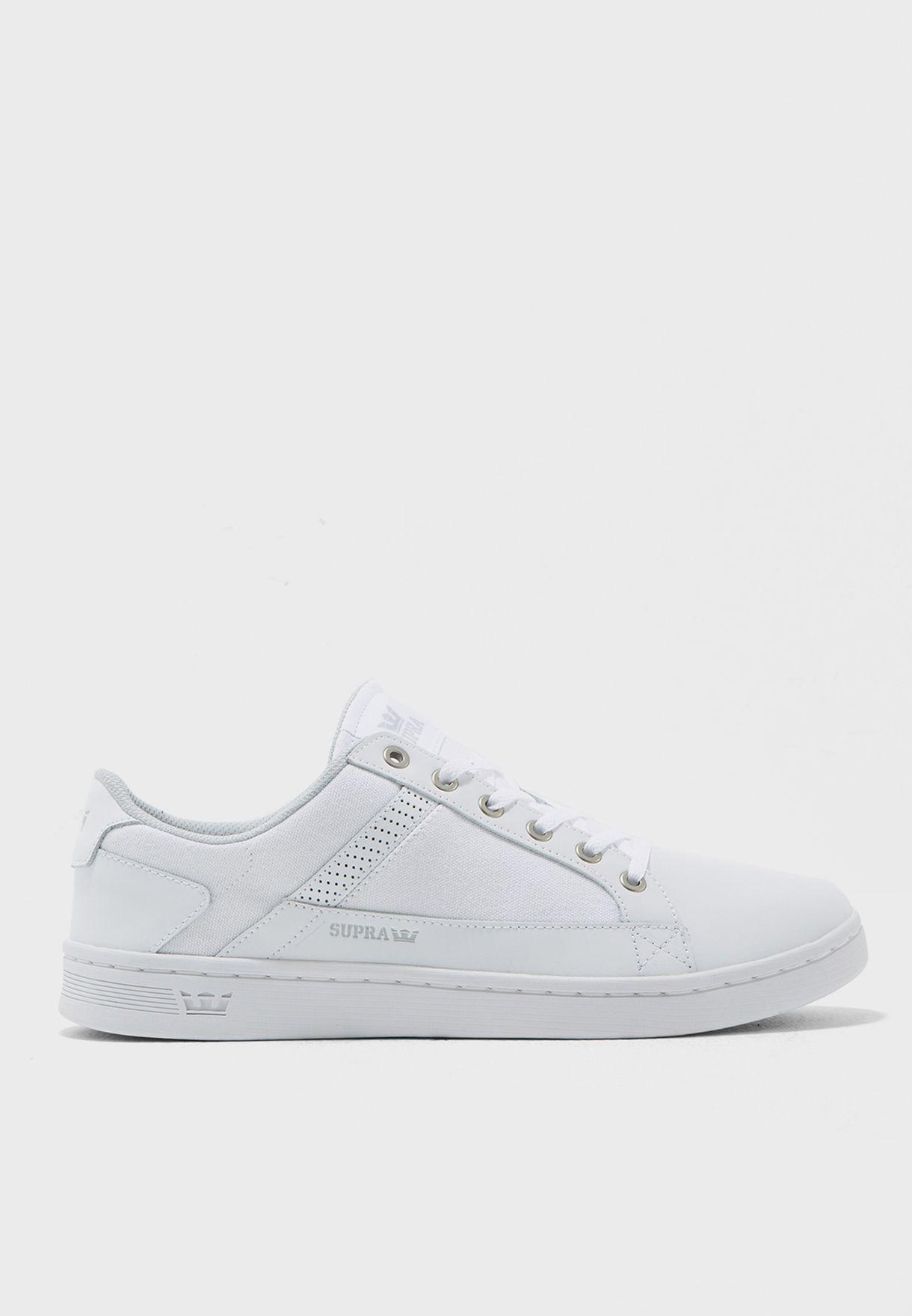 517f2d1656dd Shop Supra white Westlake Sneakers 08066-112 for Men in Bahrain -  SU673SH55DRG