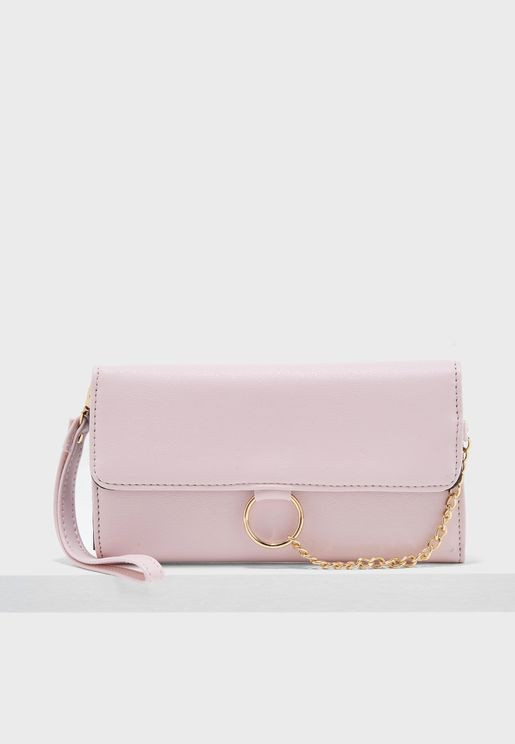 Flap Over Chain Purse