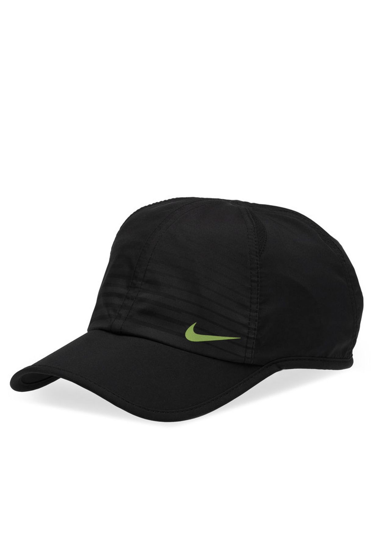 Shop Nike black Feather Light Graphic Cap NKAP524229-010 for Men in Qatar -  NI727AC55YVW e53c99d668a7