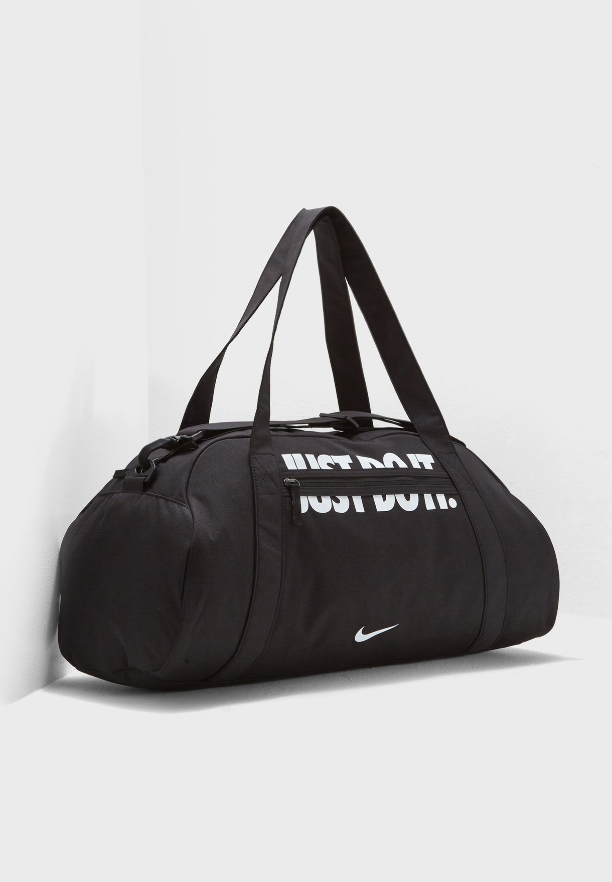 Shop Nike black Gym Club Duffel BA5490-016 for Women in UAE ... 5ac75a6d393e0