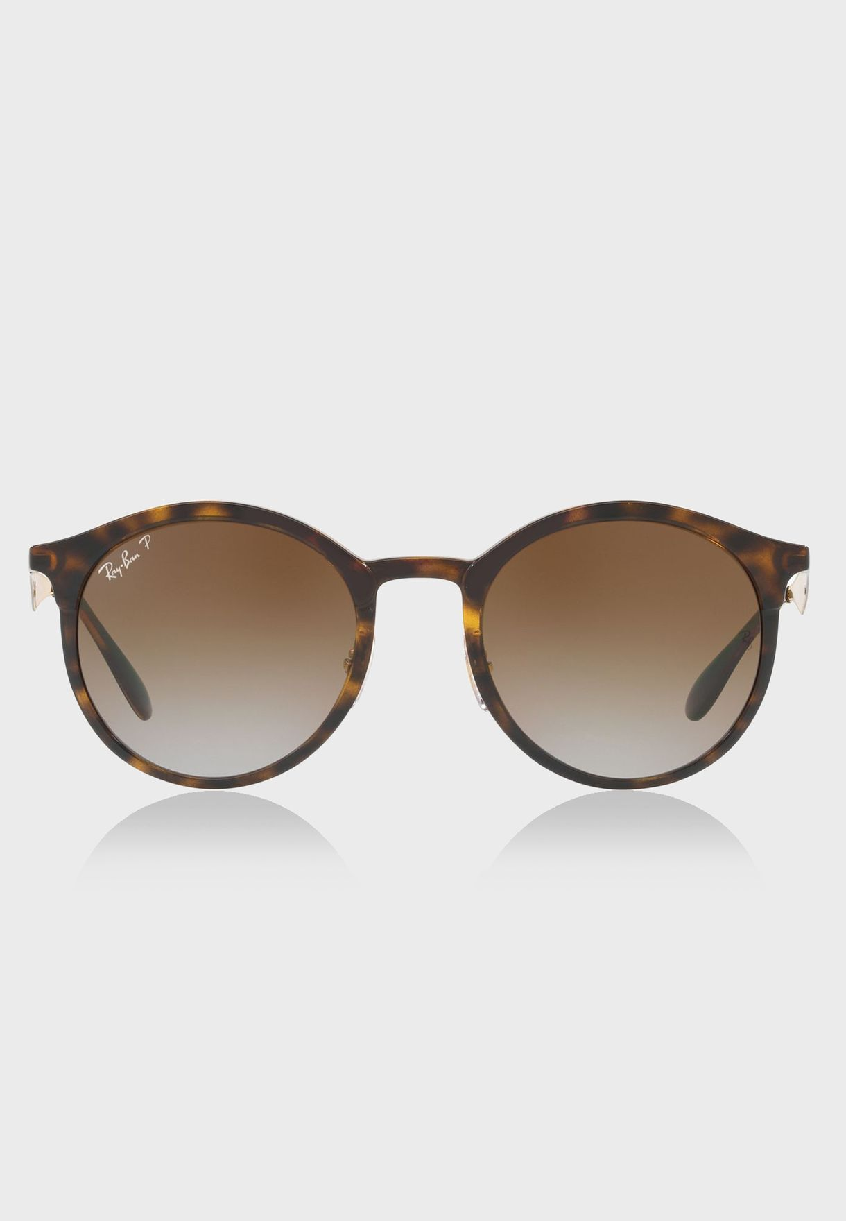 0a3ab773ceb Shop Ray-Ban browns RB4277 Emma Tortoise 8053672774382 for Men in ...