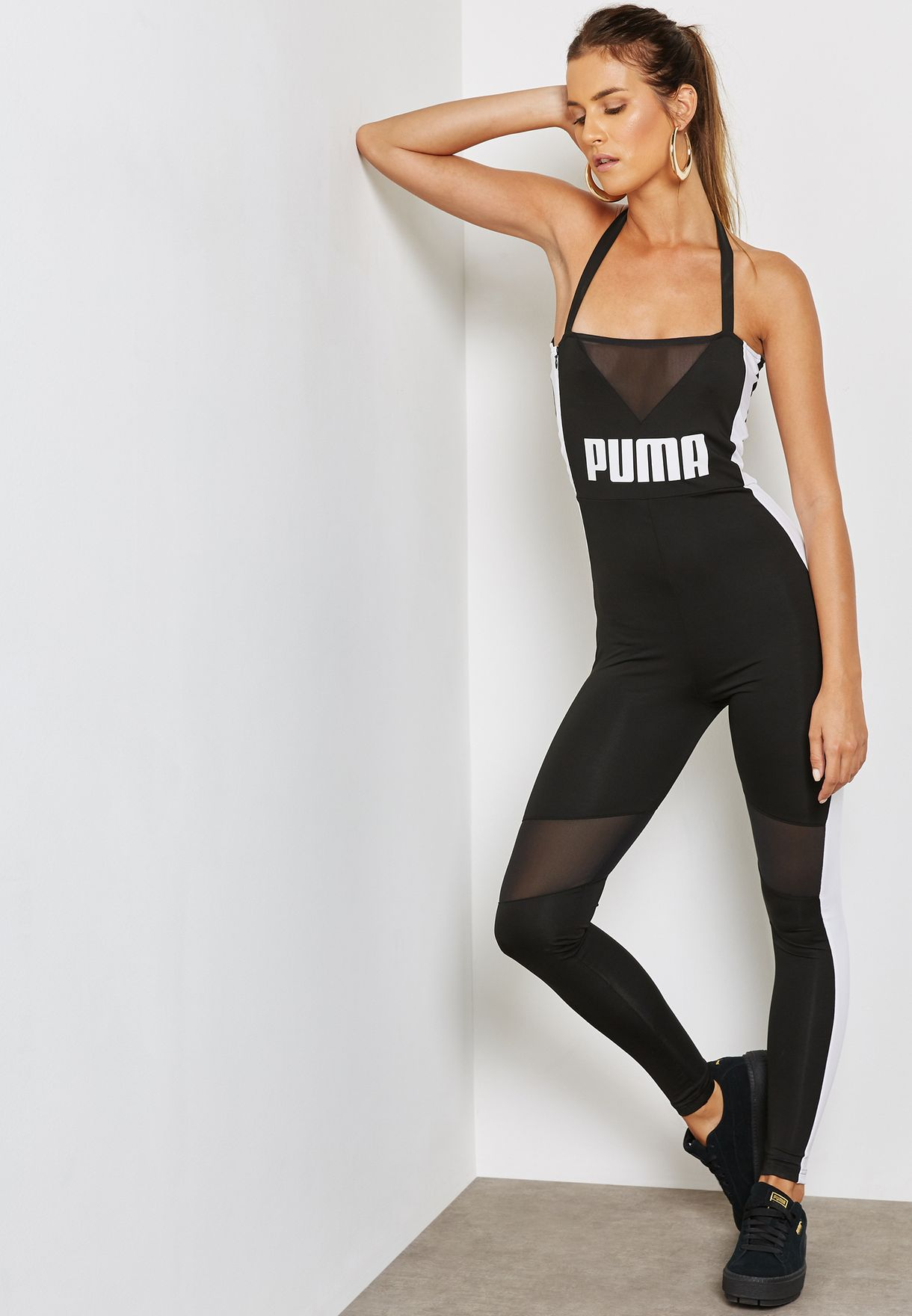 a8791aca6ab5 Shop PUMA black Archive T7 Jumpsuit 57565801 for Women in UAE ...
