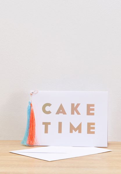 Cake Time Card