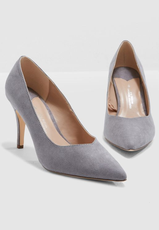 Wide Fit Drake Court Shoe