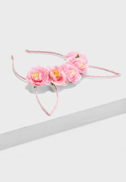 Floral Cat Ears