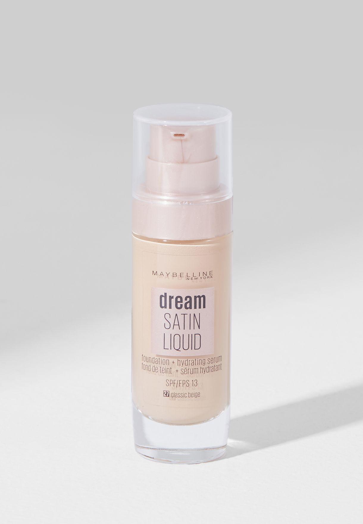 Dream Satin Liquid Foundation 27 Classic Beige