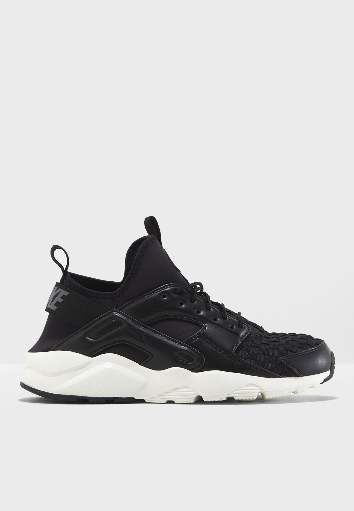 0165e3ed0371b Shop Nike black Air Huarache Run Ultra SE 875841-008 for Men in UAE ...