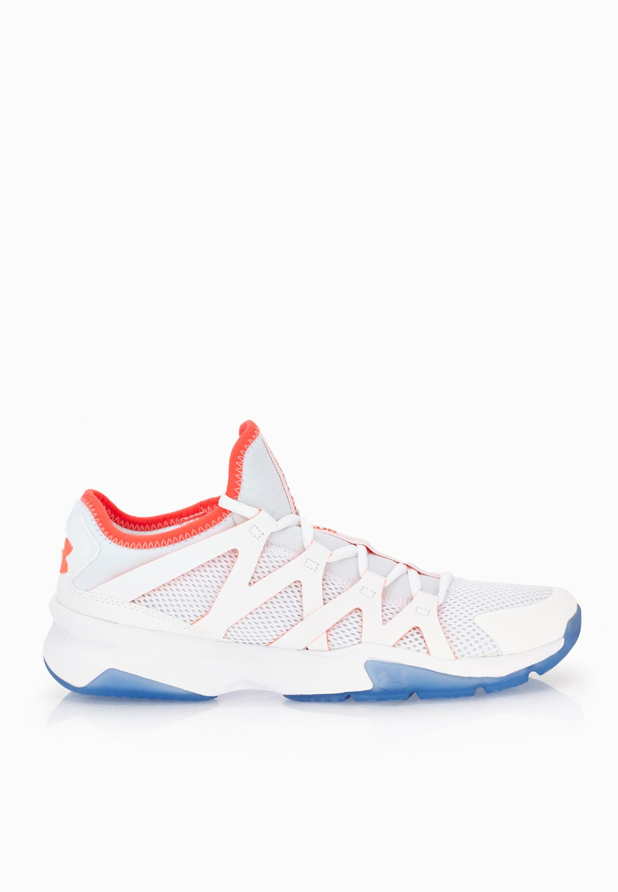 Shop Under Armour white Charged Phenom 2 1274404-100 for Men in Kuwait -  UN700SH45NXI 475d87222964