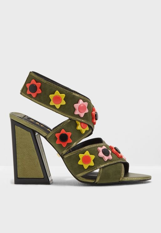 Mia Cross Strap Sandal