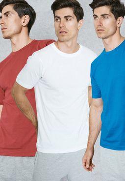3 Pack Basic T-Shirt