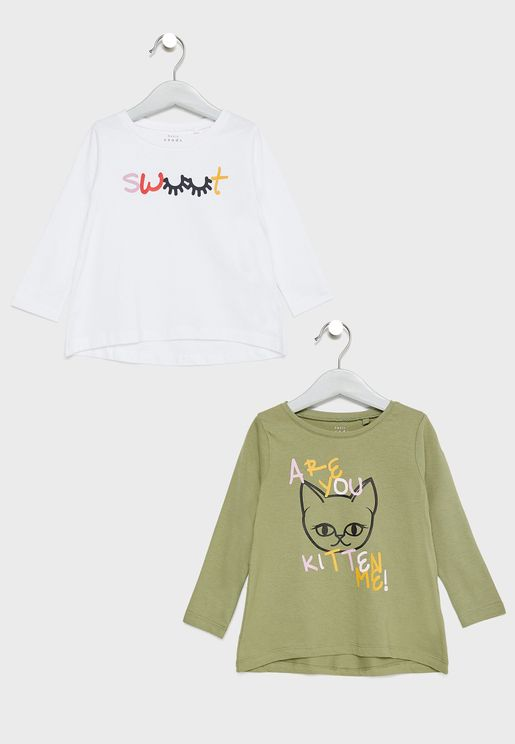 Infant 2 Pack Graphic T-Shirts
