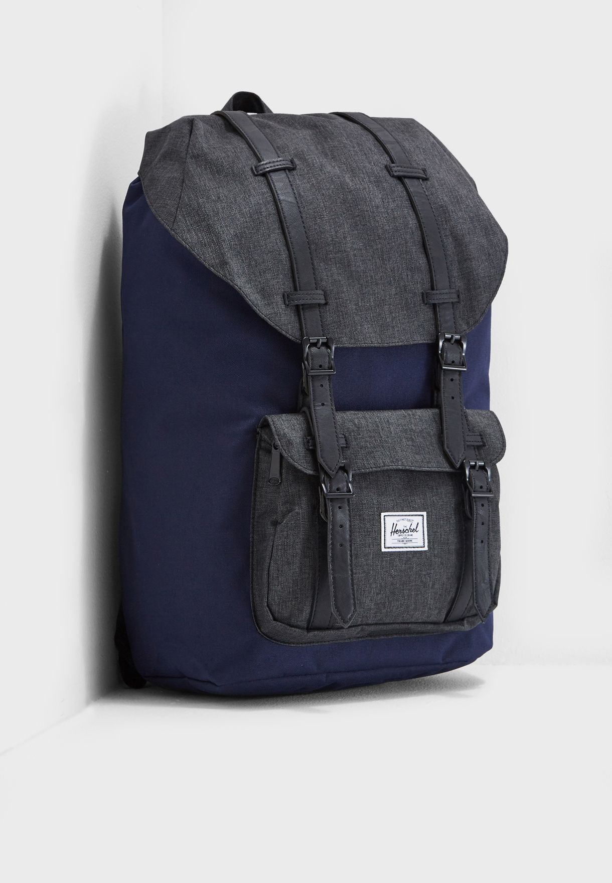 674fd7e727 Shop Herschel navy Little America Backpack 25L 10014-02173-OS for Men in  Qatar - HE829AC45IXA
