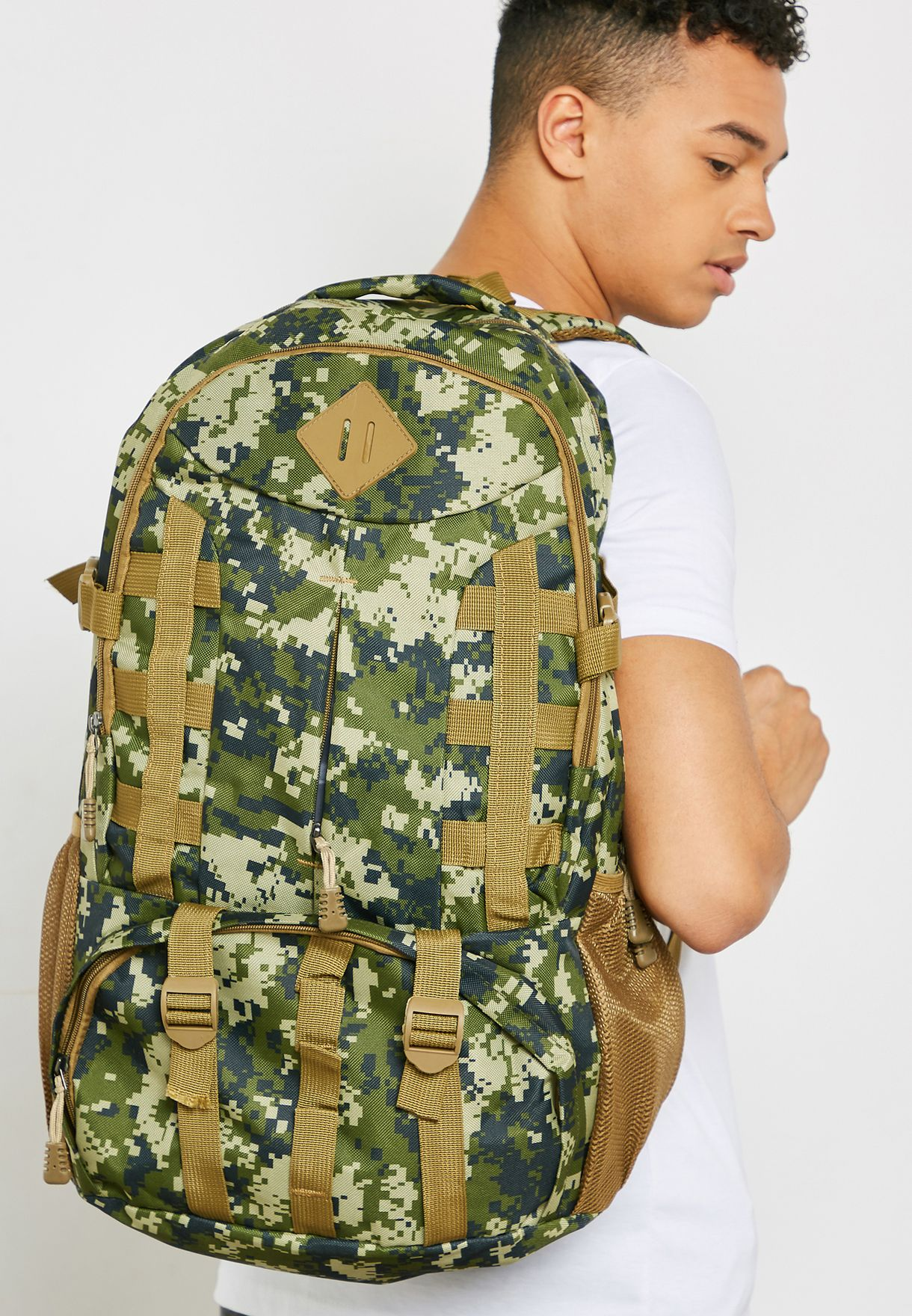 Camo Travel Backpack