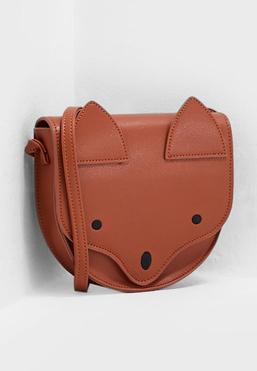 Kids Fox Crossbody Bag