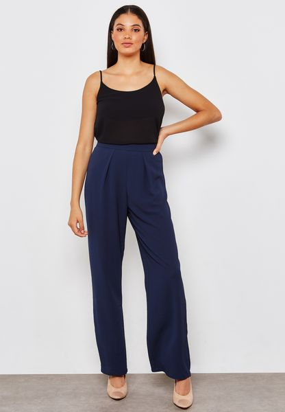 Crop Plazzo Pants