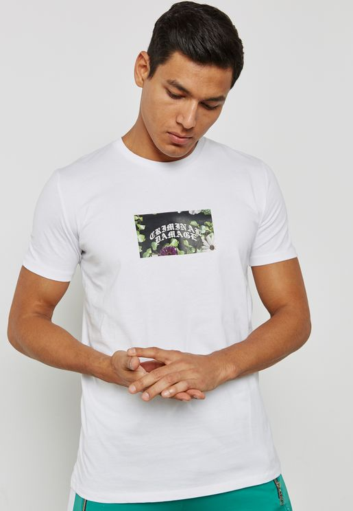 Eves Floral Print T-Shirt