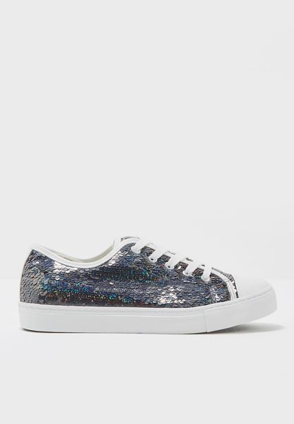 Marquin Sequin Lace Up