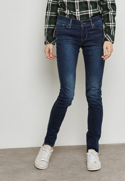 711 Mid Rise Skinny Jeans