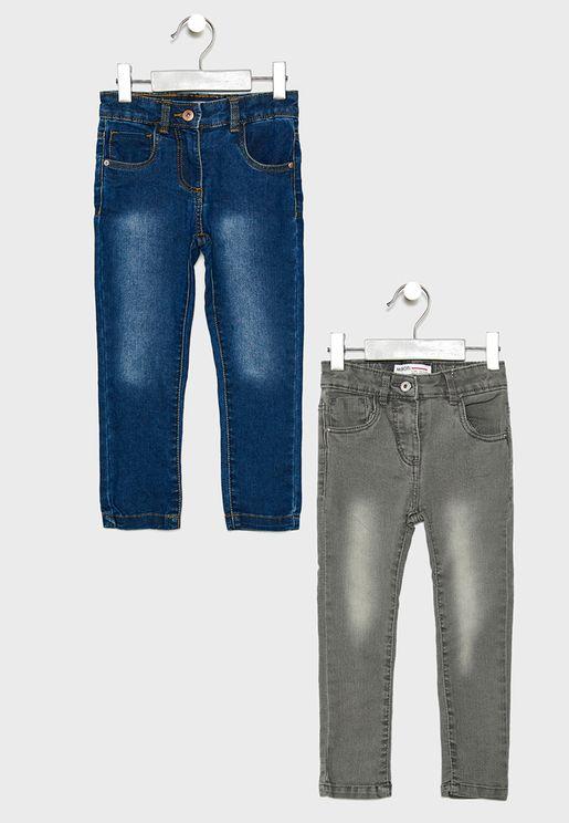Little 2 Pack Denim Jeans