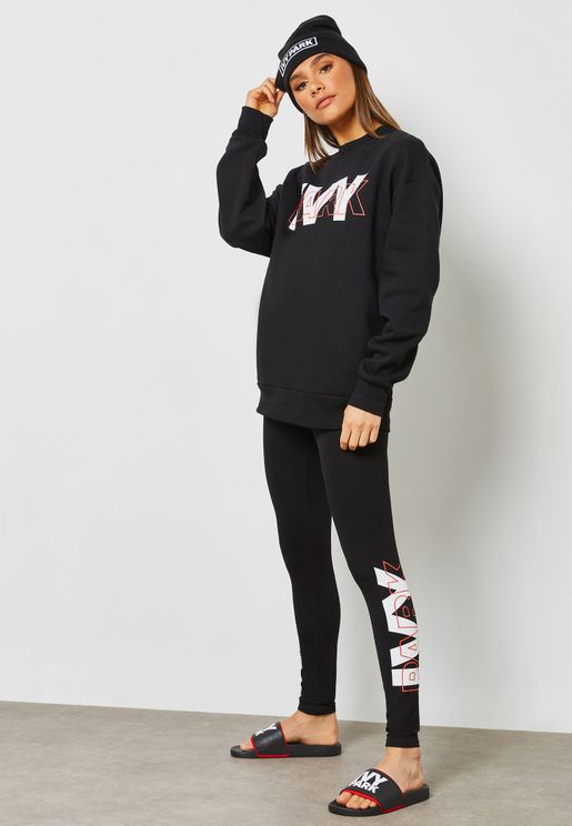 Layer Logo Leggings