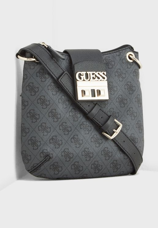Luxe Logo Tourist Crossbody