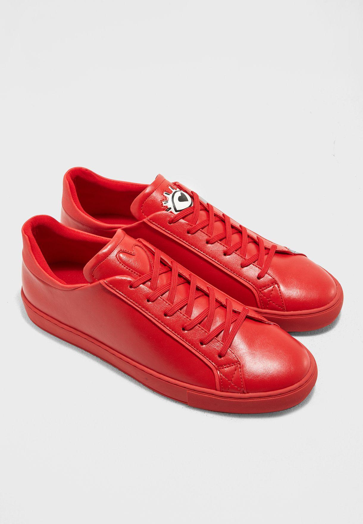 Buy Aldo red Roenia Sneakers for Men in