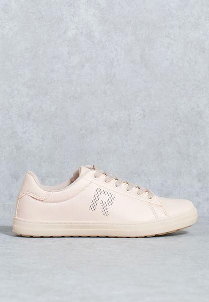 R Initial Low Top Sneaker