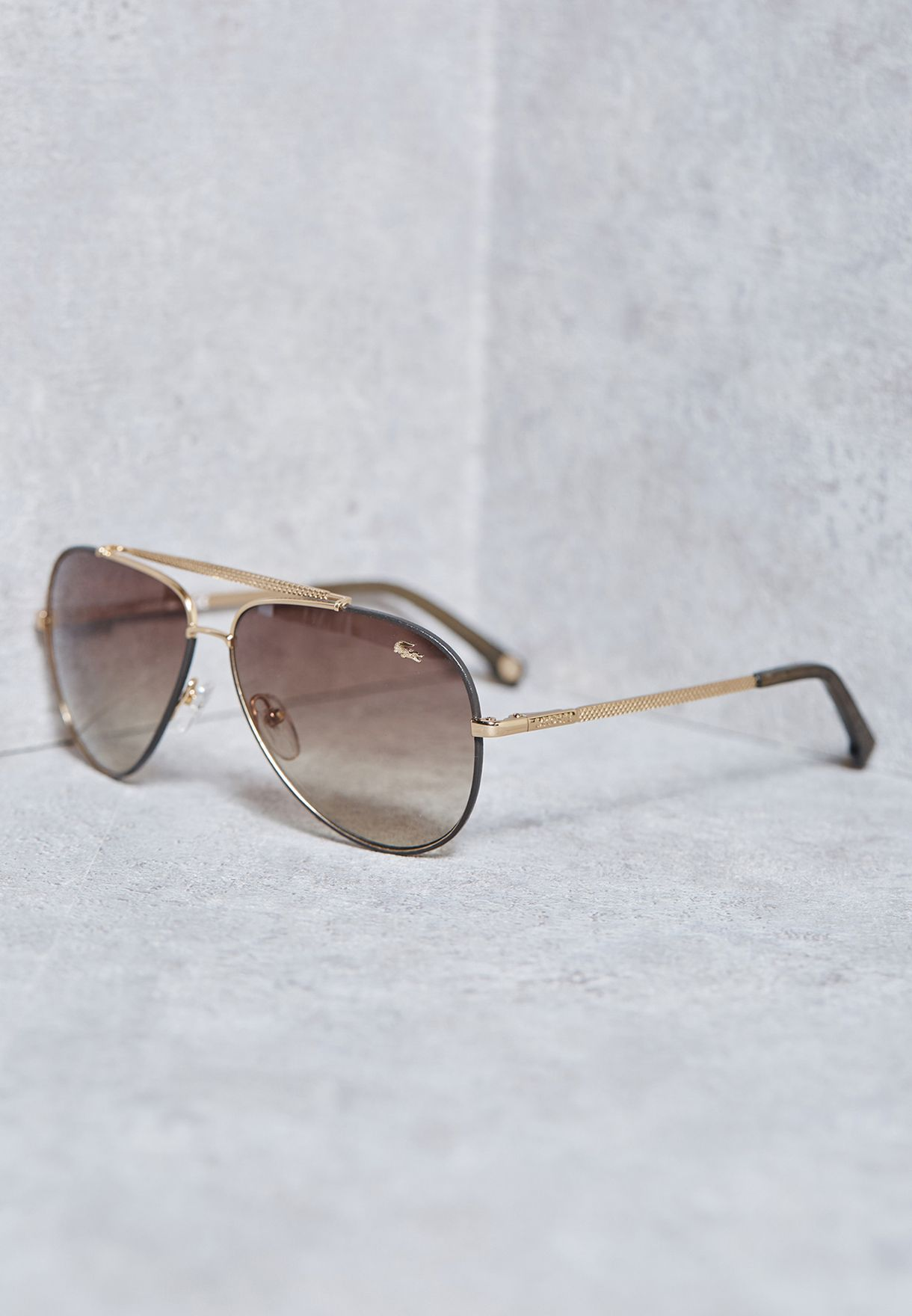 c3973fe4336 Shop Lacoste gold Classic Aviators L171SL-714 for Men in Oman ...