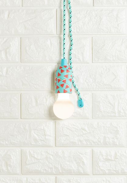 Pull Cord Lamp Watermelon