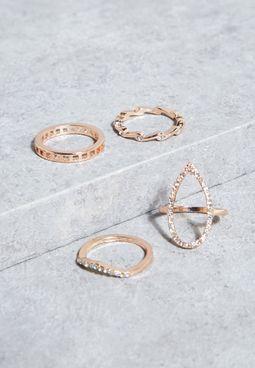 4 Pack Rings