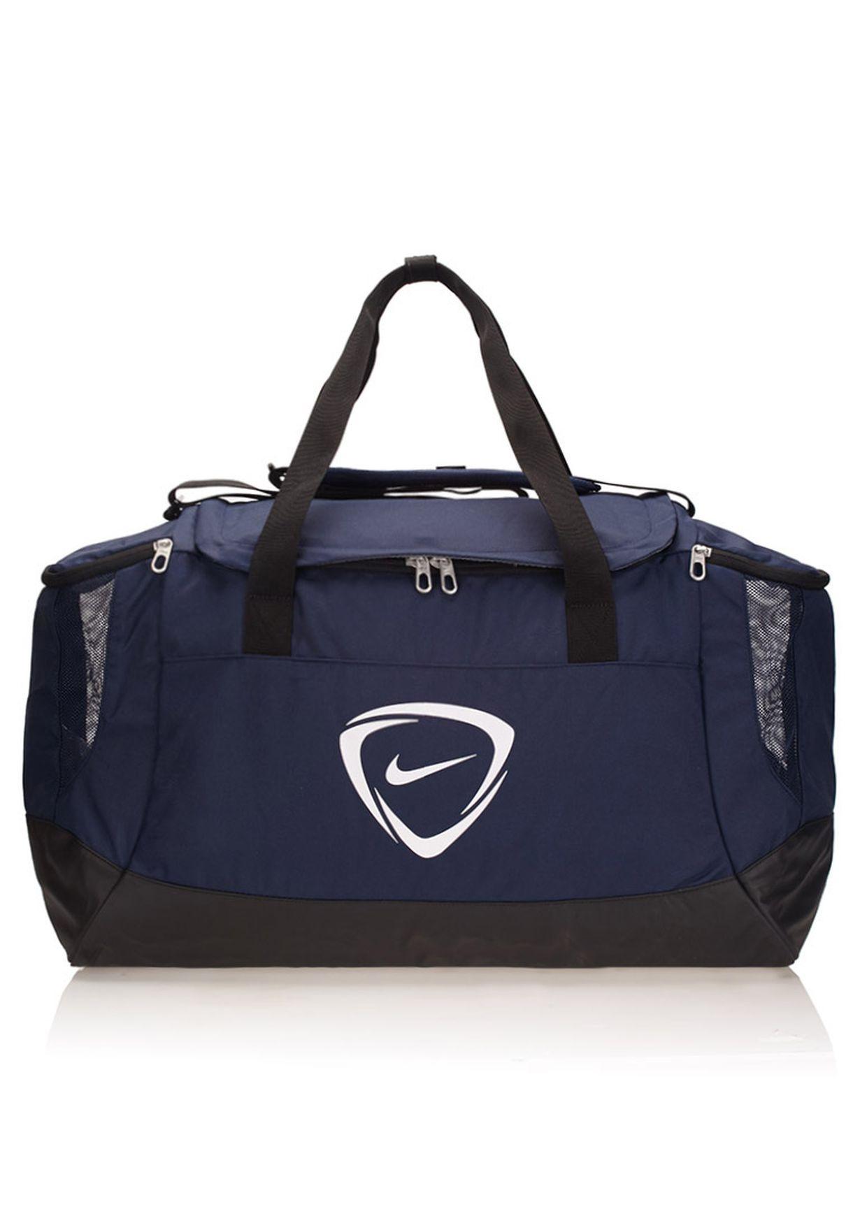 b93348f0928ddd Shop Nike navy Large Club Team Duffel Bag BA4871-472 for Men in UAE ...