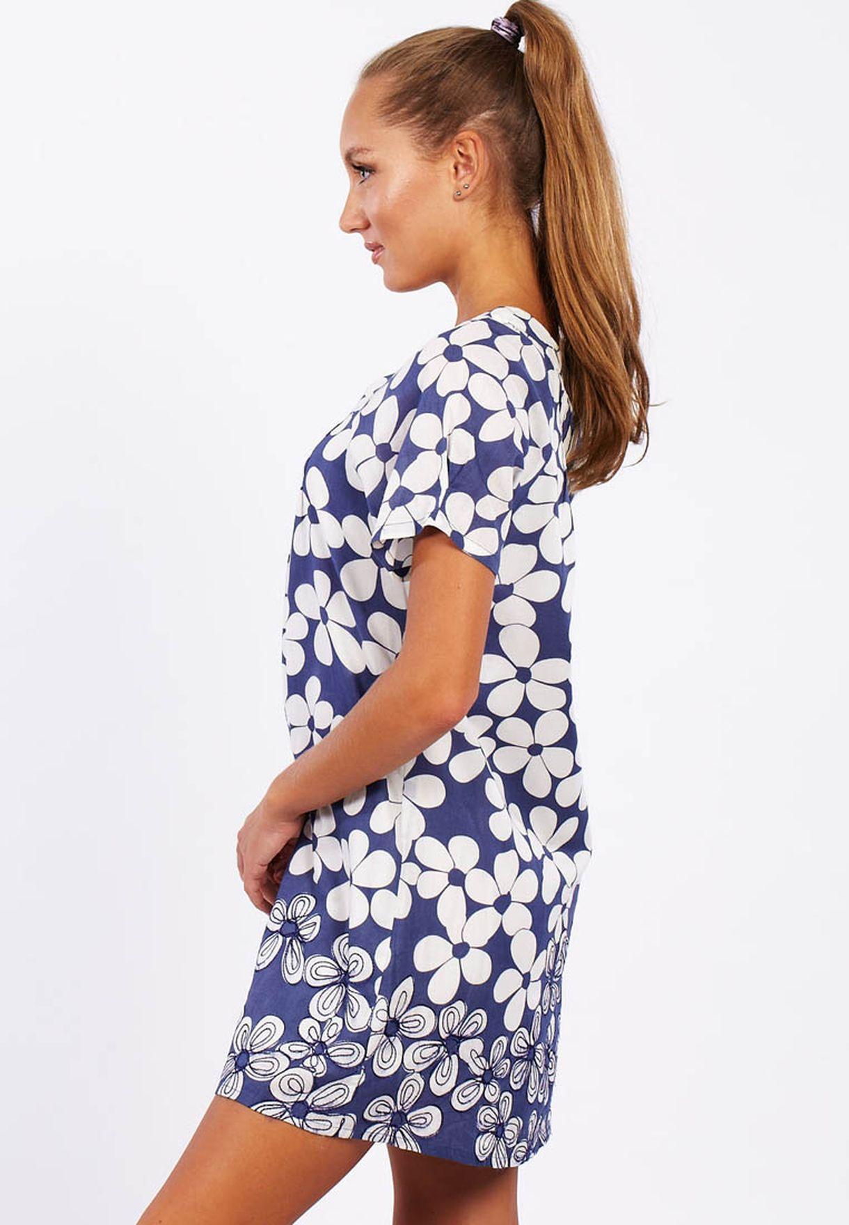 d7b02113829 Shop Adini blue Tunic Casual Dress for Women in UAE - AD103AT45TJA