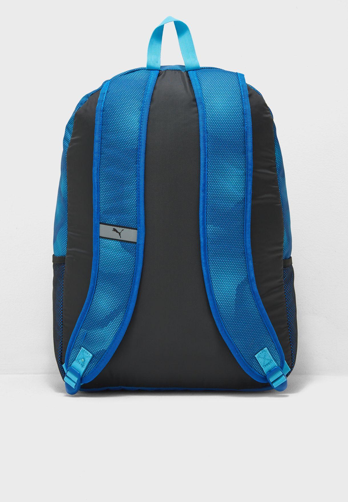 Shop PUMA blue Alpha Backpack 07471205 for Men in Saudi ... 067cf7edbf518