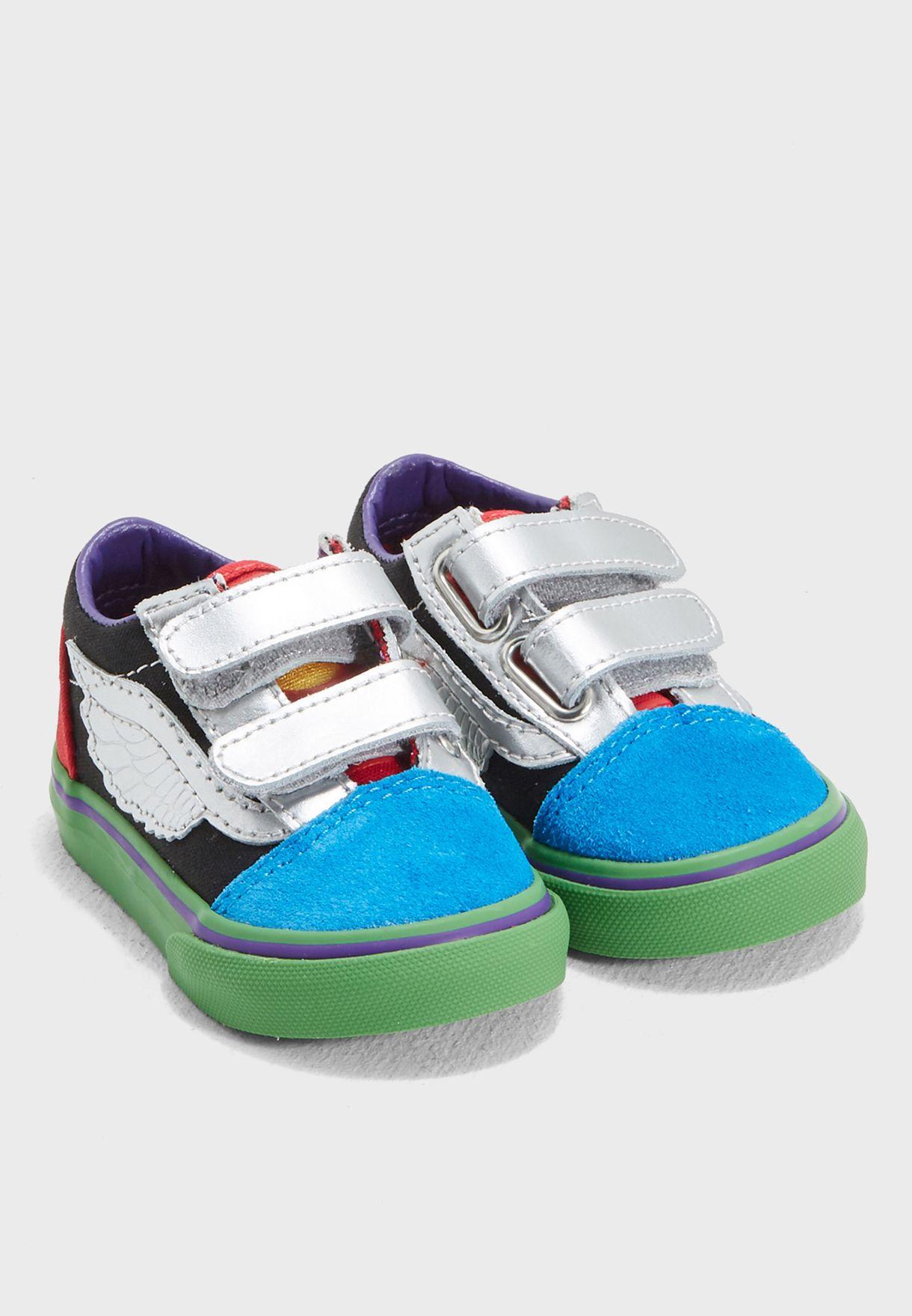 8ea7cc0820 Shop Vans multicolor Infant Marvel Old Skool V 44KU3V for Kids in ...