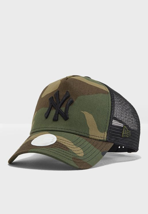 112d77c746f Camo Team Trucker Neyyan New York Yankees
