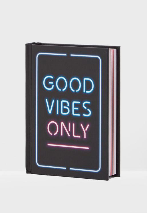 """كتاب """"المشاعر الجيدة فقط"""""""