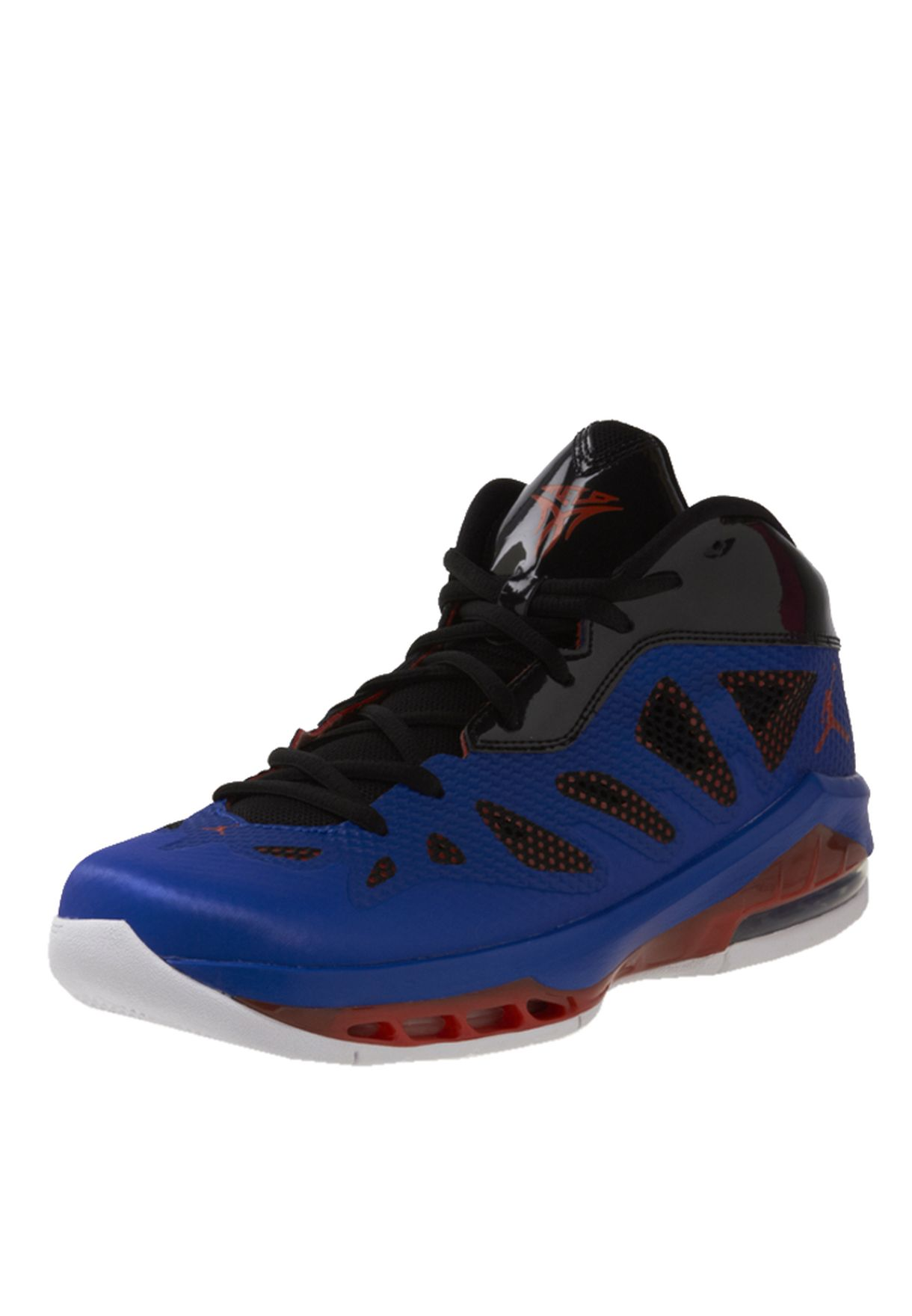 Shop Nike Blue Basketball Shoes 542240 407 For Men In Qatar