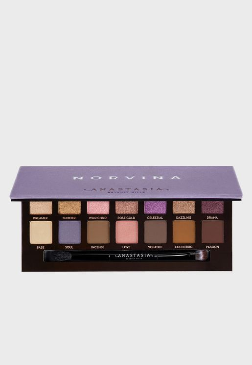 Eyeshadow Palette - Norvina