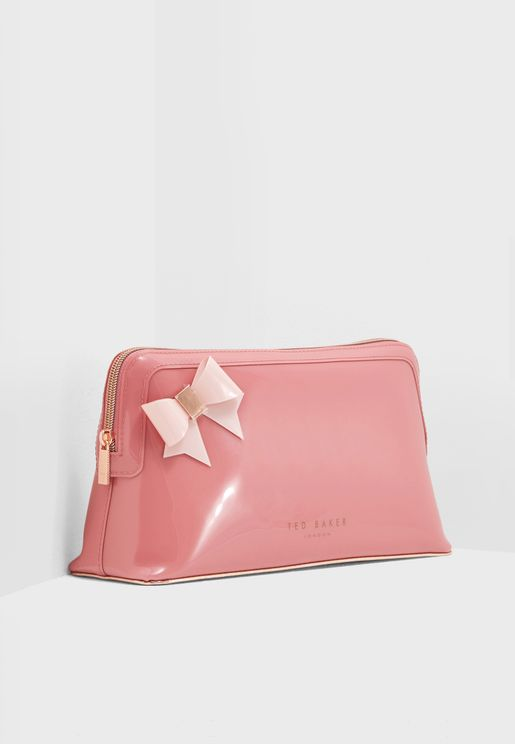 Adda Bow Detail Washbag