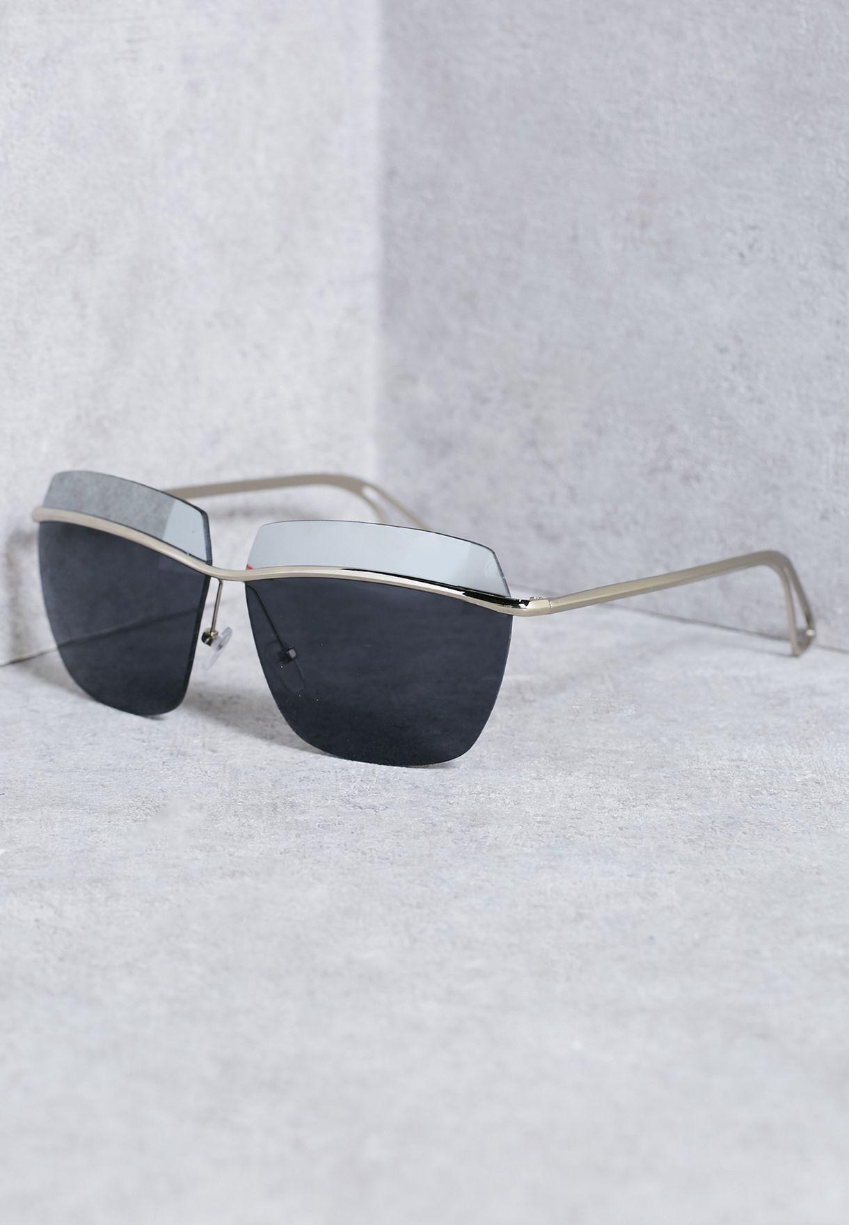 1920bf459 تسوق نظارة شمسية من جزئين ماركة جينجر لون أسود في قطر - SE177AC45ULQ