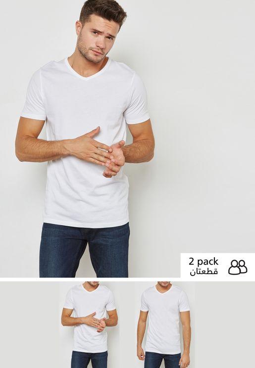 2 Pack V-Neck T-Shirt