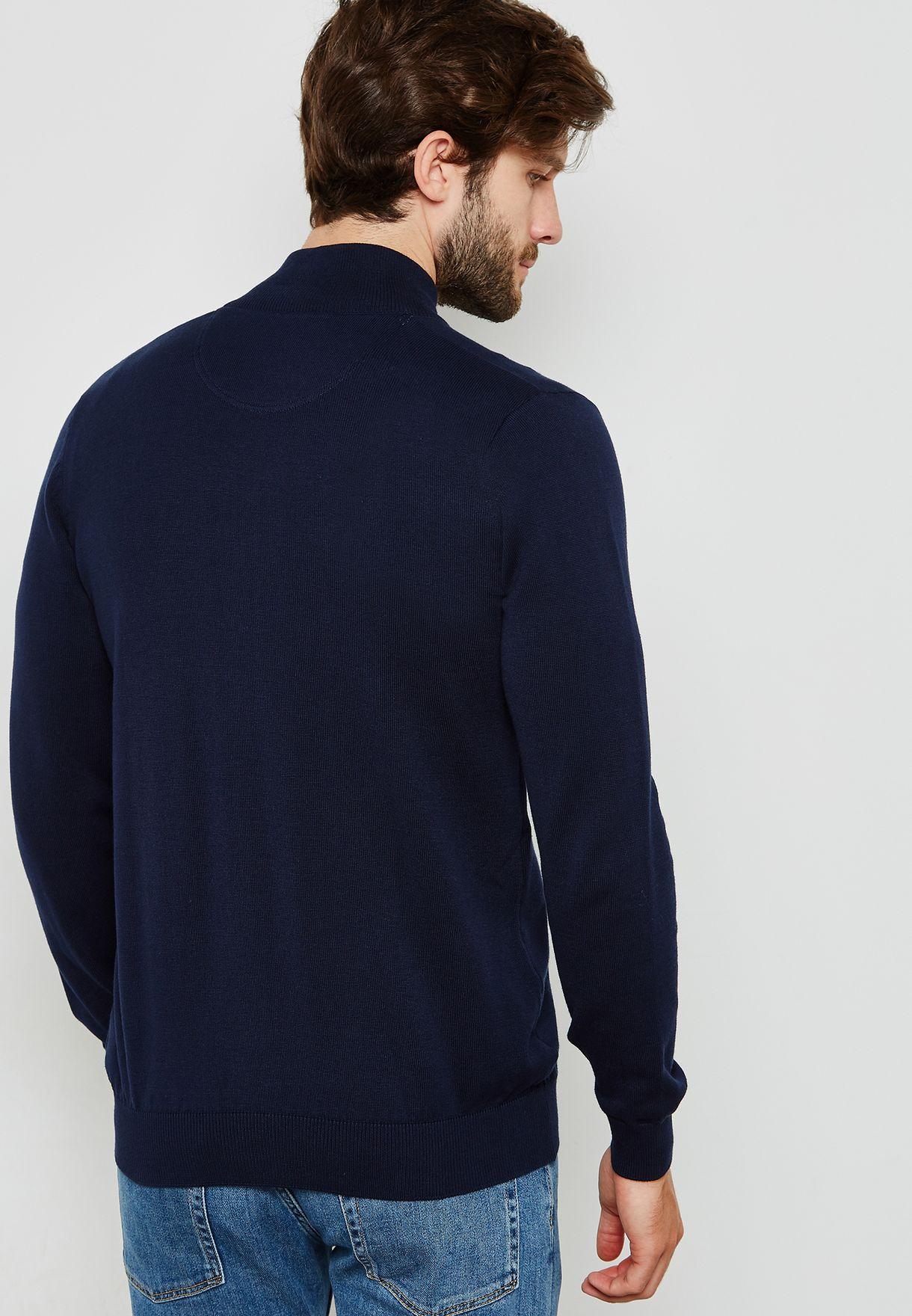 Zip through Sweater