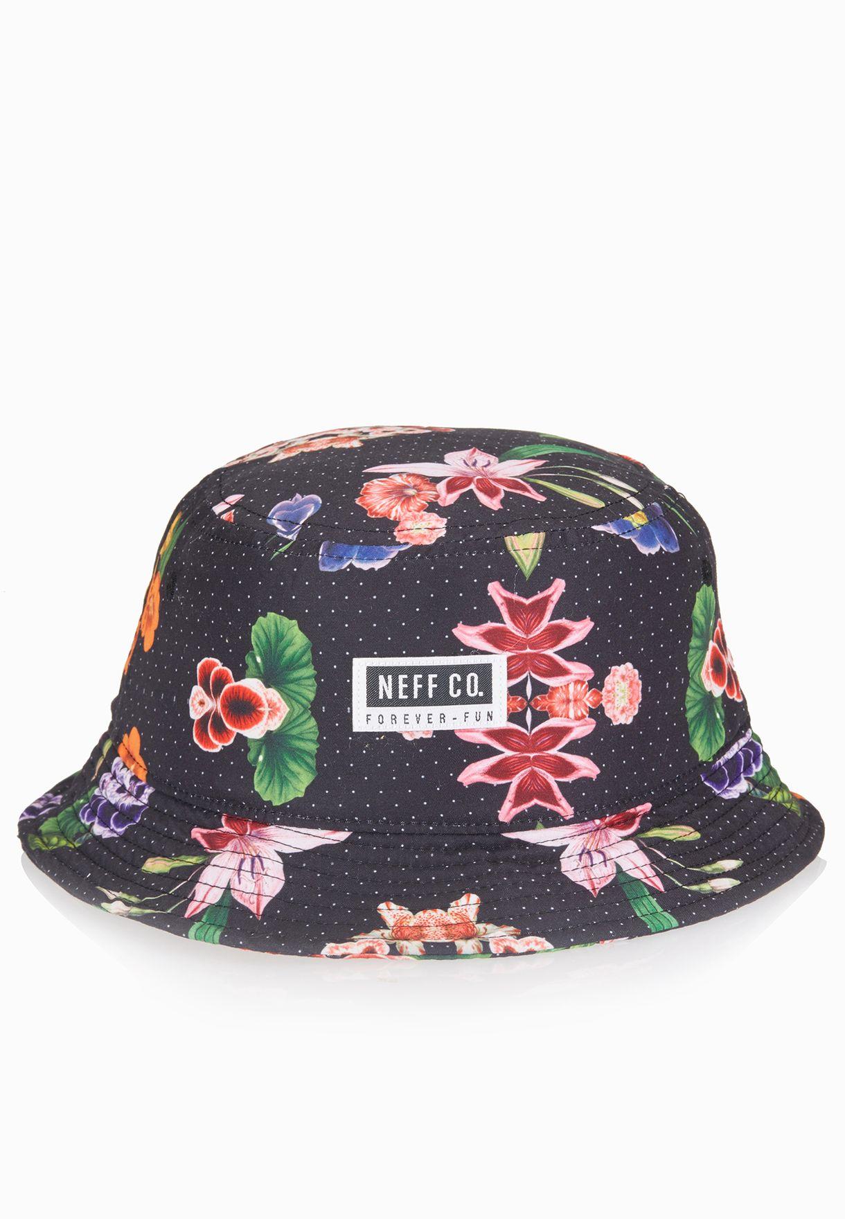 b664691aecb Shop Neff fall black Rose Bucket Cap for Women in UAE - NE706AC45TDA