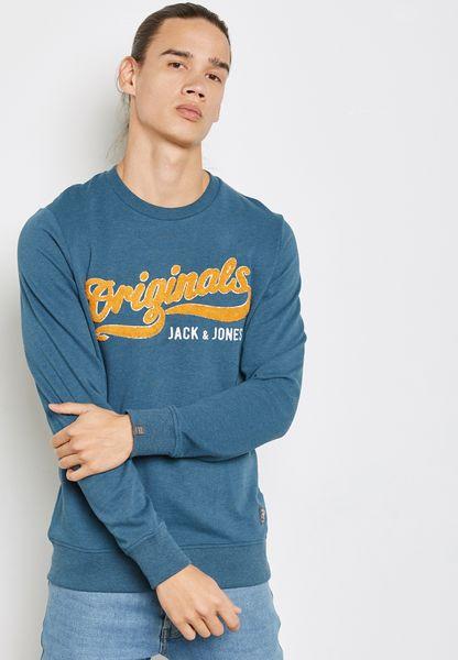 Varsity Printed Sweatshirt